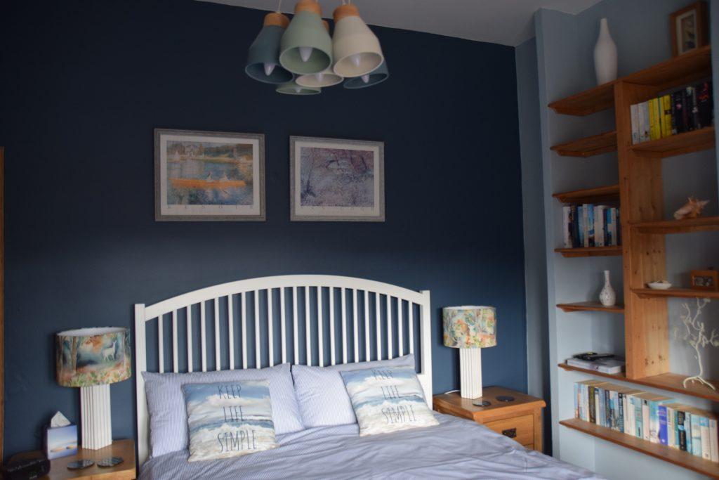 Coastguard Cottage Main Bedroom