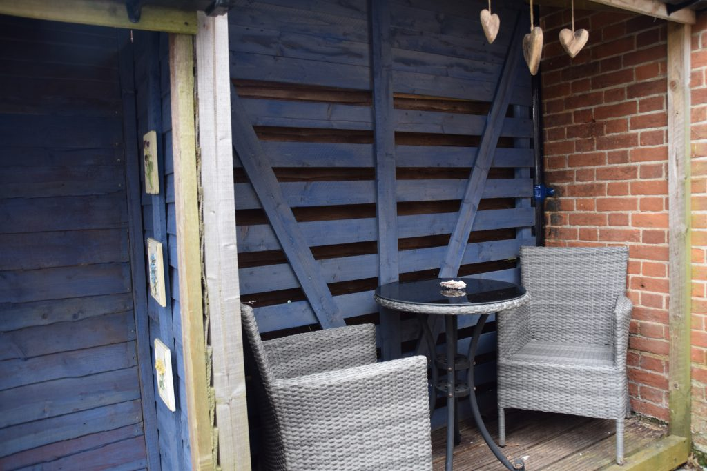 Coastguard Cottage Outside Covered Seating
