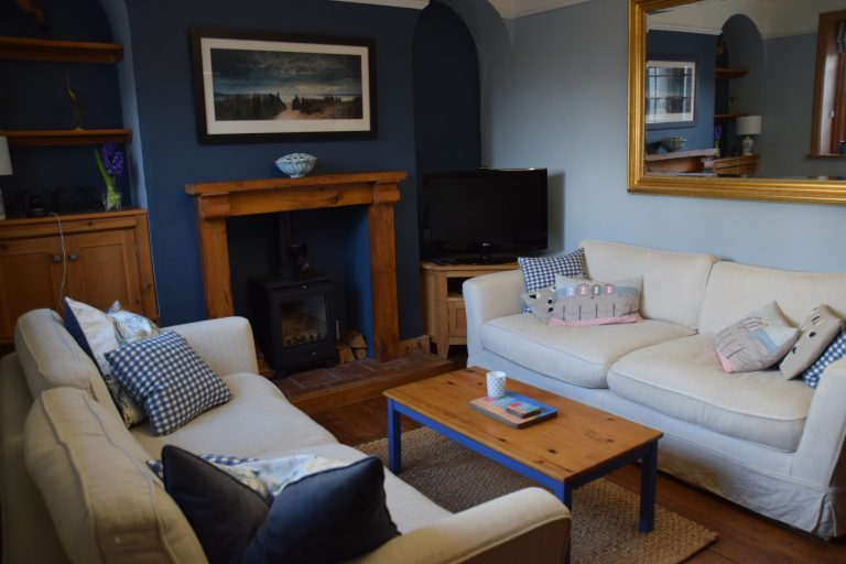 Coastguard Cottage Lounge 2