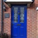 Coastguard Cottage Front Door