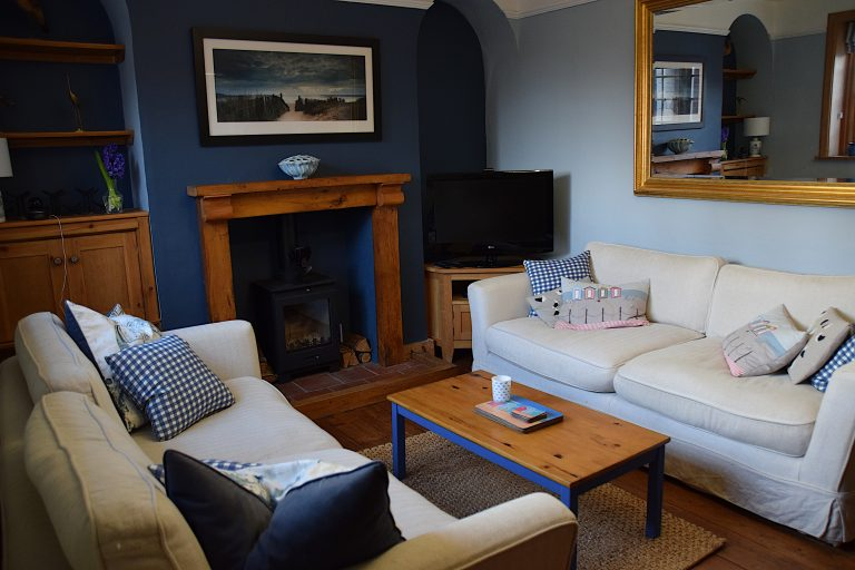 Lounge at Coastguard Cottage Wells-next-the-sea